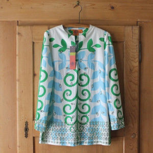 Tory Burch~ Taj Tunic or Mini Dress~Sz 8~NEW